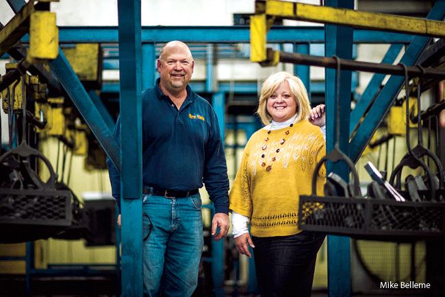 Steve and Brenda Bradley
